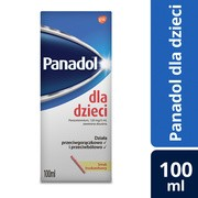 Panadol dla dzieci, (120 mg/5 ml), zawiesina doustna, 100 ml