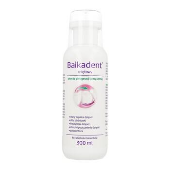 Baikadent, miętowy płyn do pielęgnacji jamy ustnej, 300 ml