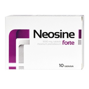 Neosine forte, 1000 mg, tabletki, 10 szt.