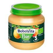 BoboVita Bio, deserek gruszka z jabłkiem, 5 m+, 125 g