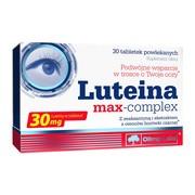 Olimp Luteina Max-Complex, tabletki powlekane, 30 szt.