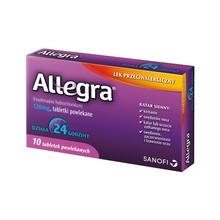 Allegra, 120 mg, tabletki powlekane, 10 szt.