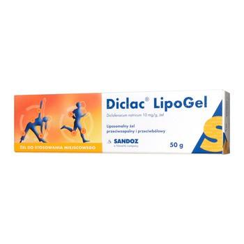 Diclac Lipogel, 10 mg/g, żel, 50 g