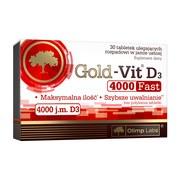 Olimp Gold-Vit D3 Fast, 4000 j.m, tabletki, 30 szt.