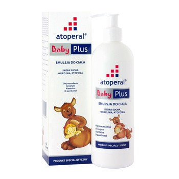 Atoperal Baby Plus, emulsja do ciała, 400 ml