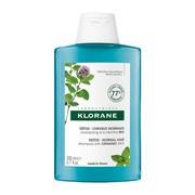 Klorane, detoksykujący szampon na bazie Mięty Nadwodnej, 200 ml