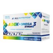 Allnutrition ADEK + Omega 3 Strong, kapsułki, 60 szt.