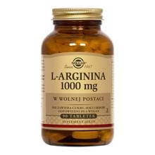Solgar L-Arginina, 1000 mg, tabletki, 90 szt.