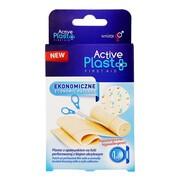 Active Plast Ekonomiczny, plaster z opatrunkiem na folii, 50 x 6 cm, 1 szt.