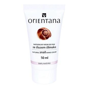Orientana, naturalny krem do rąk ze śluzem ślimaka, 50 ml