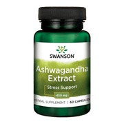 Ashwagandha Extrakt, 450 mg, kapsułki, 60 szt.