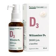 Formula CannabiGold Witamina D3 z lanoliny, olej, 30 ml
