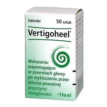 Heel-Vertigoheel, tabletki, 50 szt.