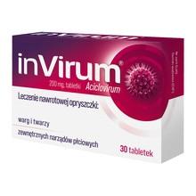 Invirum, 200 mg, tabletki, 30 szt.