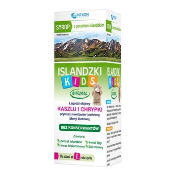 Islandzki Kids Natural , syrop, 125 ml