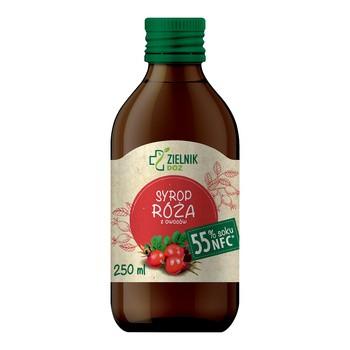 DOZ Zielnik Syrop Róża z owoców, 250 ml