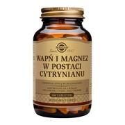 Solgar Wapń i Magnez, tabletki, 100 szt.