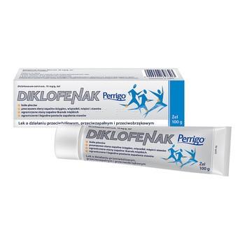 Diklofenak Perrigo, 10 mg/g, żel, 100 g