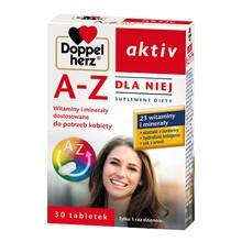 Doppelherz Aktiv A-Z Dla Niej, tabletki, 30 szt.
