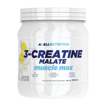 Allnutrition 3-Creatine malate muscule max, proszek, smak cytrynowy, 500 g