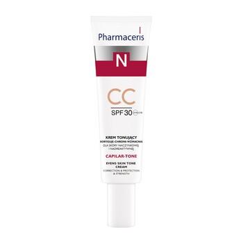 Pharmaceris N Capilar-Tone, krem tonujący CC, SPF 30, skóra naczynkowa i nadreaktywna, 40 ml