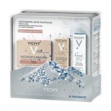 Zestaw Promocyjny Vichy Neovadiol, Rose Platinium, różany krem, 50 ml + Mineral 89, codzienny booster, 10 ml GRATIS + Kompleks Uzupełniający, krem na noc, 3 ml GRATIS
