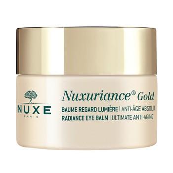 Nuxe Nuxuriance Gold, rozświetlający balsam pod oczy, 15 ml