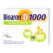 Bioaron Witamina D 1000 j.m., kapsułki miękkie, 90 szt.