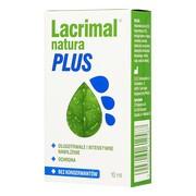Lacrimal Natura Plus, krople do oczu, 10 ml