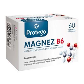 Protego Magnez B6, tabletki powlekane, 60 szt.