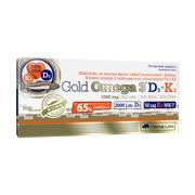 Olimp Gold Omega 3 D3 + K2, kapsułki, 30 szt.