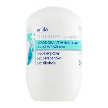 Anida Medisoft Sensitive, dezodorant mineralny, 50 ml