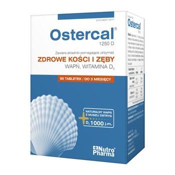 Ostercal 1250 D, tabletki, 90 szt.