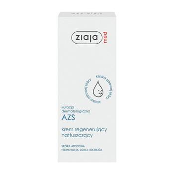 Ziaja Med Kuracja Dermatologiczna AZS, krem regenerująco-natłuszczający, 50 ml