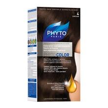 Phyto Color, farba do włosów, 4 kasztan, 1 opakowanie