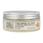 Fresh&Natural, peeling solny, tropikalny, 250 g