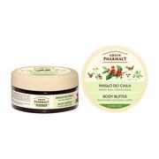 Green Pharmacy, masło do ciała, masło shea i zielona kawa, 200 ml