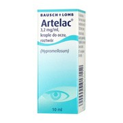 Artelac, 3,2 mg/ml, krople do oczu, 10 ml