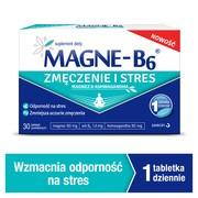 Magne-B6 Zmęczenie i stres, tabletki powlekane, 30 szt.