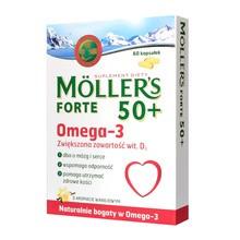 Mollers Forte 50+, kapsułki, 60 szt.