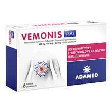 Vemonis Femi, tabletki powlekane, 6 szt.