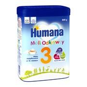 Humana 3 mali odkrywcy, mleko w proszku dla dzieci po 1. roku życia, 800 g