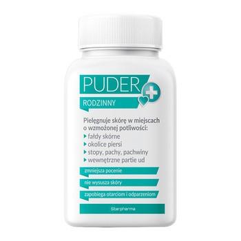 Puder rodzinny, do pielęgnacji ciała przy wzmożonej potliwości, 100 g