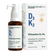 Formula CannabiGold Witamina D3 + K2, olej, 30 ml