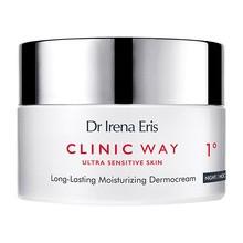 Dr Irena Eris Clinic Way 1°, hialuronowe wygładzenie, krem na noc, 50 ml