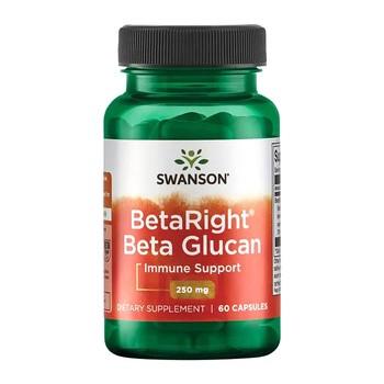 Beta Right beta glukany, 250 mg, kapsułki, 60 szt.