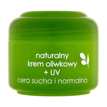 Ziaja, krem oliwkowy + UV, cera sucha i normalna, 50 ml