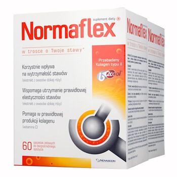 Zestaw Promocyjny Normaflex, 5 g, 60 saszetek x 2 opakowania (1 + 1 GRATIS)