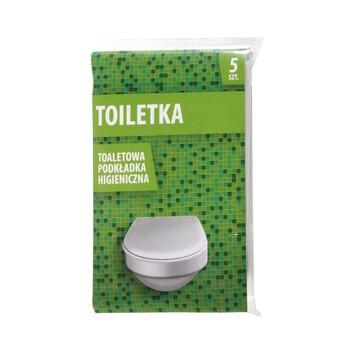 Podkładki higieniczne toaletowe, Toiletka, 5 szt