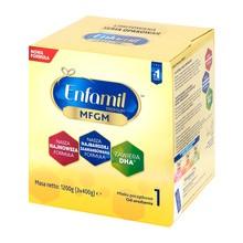 Enfamil Premium MFGM 1 mleko początkowe, modyfikowane w proszku, 1200 g (3 x 400 g)